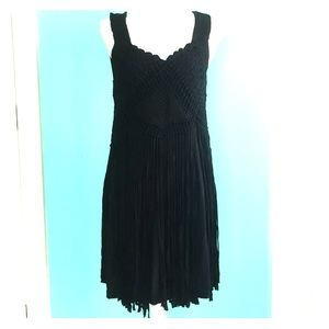 H&M Hand made limited edition fringe dress